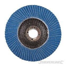 100 mm Grain 80 - Disque à lamelles en zirconium