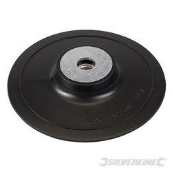 Plateau-support ABS pour disques fibres 115 mm