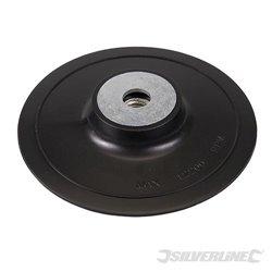 Plateau-support ABS pour disques fibres 125 mm