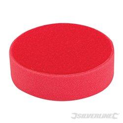 Éponge de polissage auto-agrippante Ultra-douce rouge 150 mm