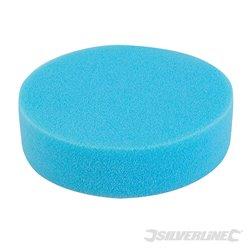 Éponge de polissage auto-agrippante Médium bleue 150 mm