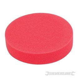 Éponge de polissage auto-agrippante Ultra-douce rouge 180 mm