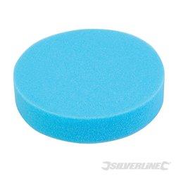 Éponge de polissage auto-agrippante medium Médium bleue 180 mm