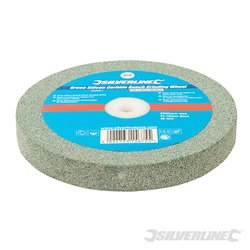 Meule en carbure de silicium vert pour touret à meuler 150 x 20 mm