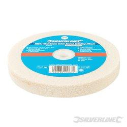 Meule corindon blanc pour touret à meuler 150 x 20 mm Grain moyen