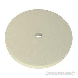 Disque de polissage en feutre 150 mm