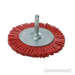 Brosse à filaments 75 mm grain gros