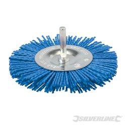 Brosse à filaments 100 mm grain fin