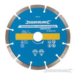 Disque à segments de 7 mm de haut pour une coupe rapide et une durée accrue.