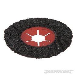 Grain 24 - Disque abrasif sur fibre semi-flexible 115 mm