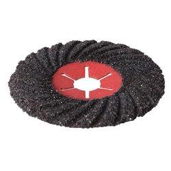 Disque abrasif sur fibre semi-flexible 125 mm Grain 60