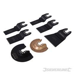 Kit outils de coupe 7 pièces