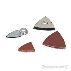 Kit d'accessoires de ponçage pour outil multifonction 14 pièces
