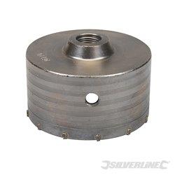 Scie trépan carbure de tungstène 110 mm