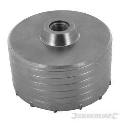 Scie trépan carbure de tungstène 125 mm