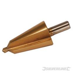 Fraise conique titanée HSS 6 - 20 mm