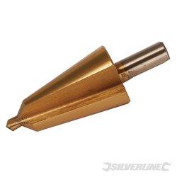 Fraise conique titanée HSS 16 - 30 mm