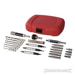 Coffret de 30 accessoires à système de serrage rapide
