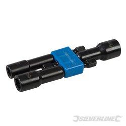 Embouts de vissage d'écrous magnétiques 6, 8 et 10 mm