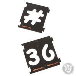 Ensemble 31 pièces pour fraisage de chiffres