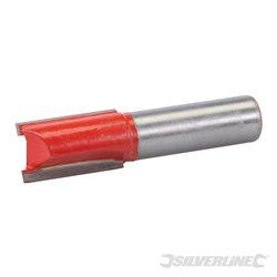 Fraise droite métrique de 12 mm - 15 x 25 mm
