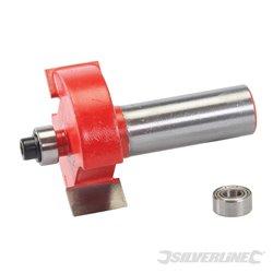 Fraise à feuillurer de 12 mm - 35 x 12.7 mm