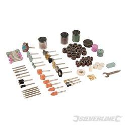 Kit d'accessoires pour outil rotatif 216 pcs