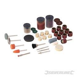Kit d'accessoires pour outil rotatif 105 pièces