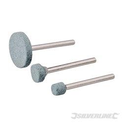 Ensemble de meules pour outil rotatif 3 pièces