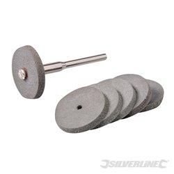 Ensemble de disques à polir en caoutchouc pour outil rotatif 7 pièces