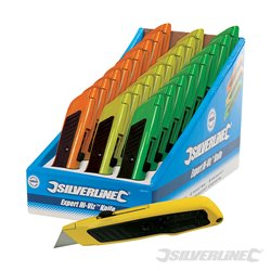 Boîte présentoir de 24 cutters Expert fluo