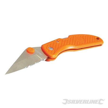 Couteau à ouverture facile fluo 58 mm