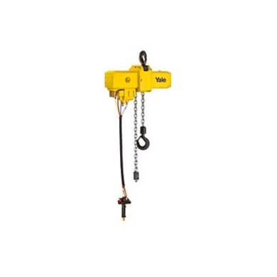Yale Palan pneumatique à chaîne fixe à crochet ou avec chariot CPA ATEX