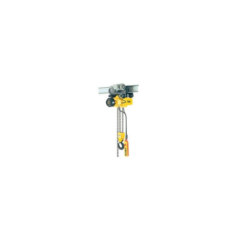Yale CPE Palan électrique – à chaîne avec crochet haut ou chariot intégré