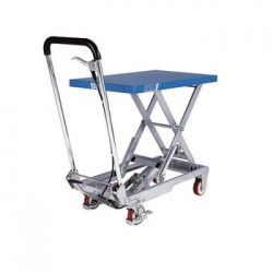 Pfaff-silberblau Table élévatrice mobile simple ciseaux HX