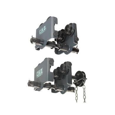 CHD-CHDD Chariots de direction manuels par poussée ou par volant et chaîne pour charge de 250 à 20 000 kg