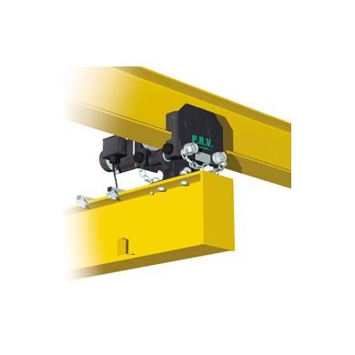 Chariots pour réalisation de poutres roulantes articulées électriques pour charge de 250 à 2 000 kg