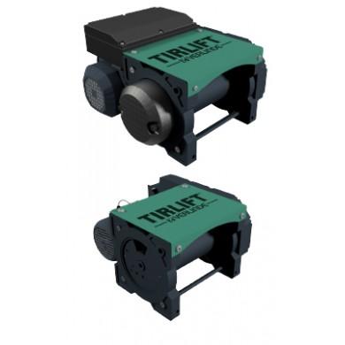 TIRLIFT 2 Treuils électriques mono et triphasés type TC et TL pour charge de 125 à 1500 kg