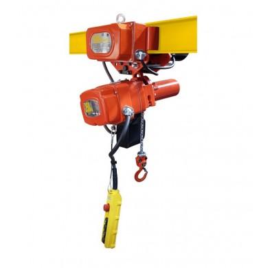 Palans électriques à chaîne 1 vit - 380V Tri EACM