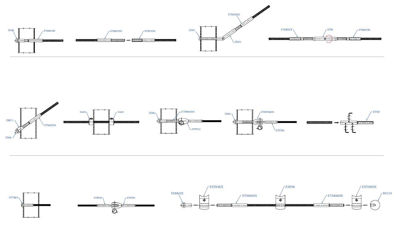 Application systèmes câbles